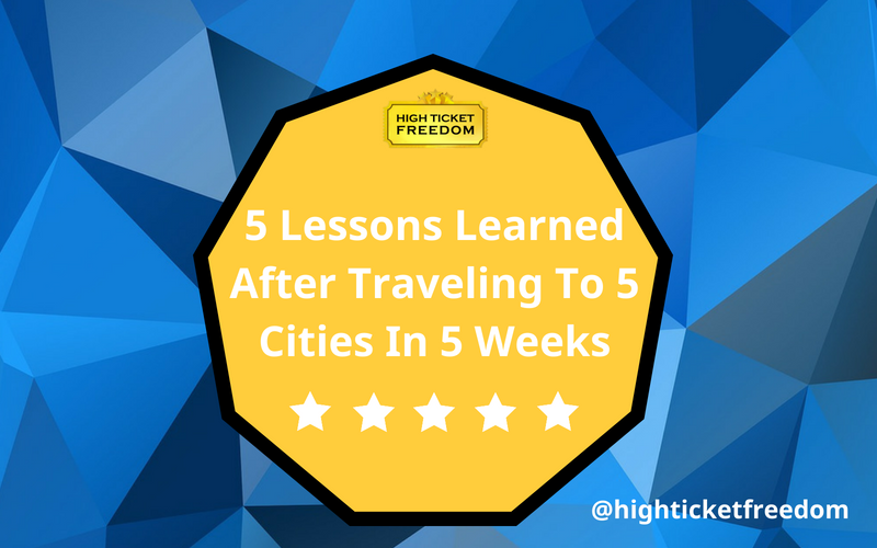 What I Learned After Traveling To 5 Cities In 5 Weeks