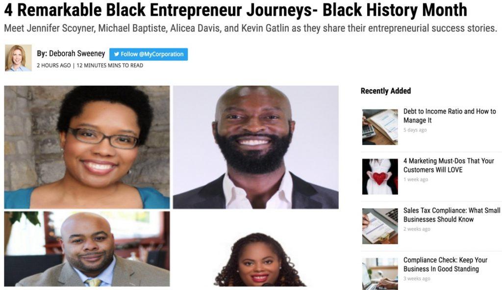 4 Remarkable Black Entrepreneur Journeys