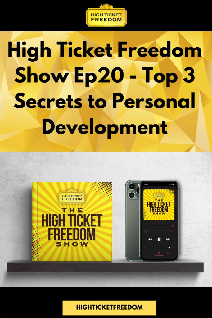 Top 3 Secrets to Personal Development