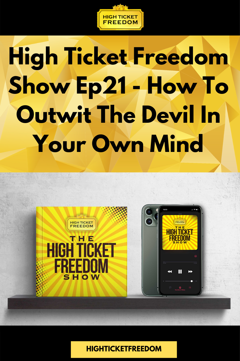 How to outwit the devil in your mind